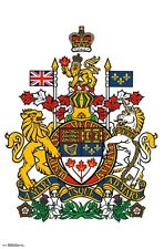 CANADA - COAT OF ARMS POSTER - 22x34 - 15465