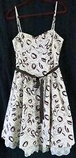 City Triangles Dress Spaghetti Strap 11 Floral Multi Color Knee Length Party