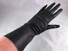 ONE (1) PAIR OF VINTAGE LADIES' SIZE 6 1/2 ITALIAN LEATHER GLOVES