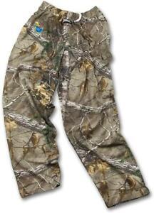 Zubaz Kansas Jayhawks Men M Real Tree Camo Print Casual Active Pants C1 2124
