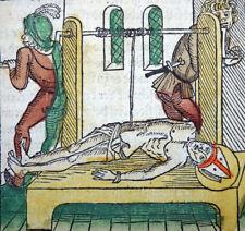 INKUNABEL BLATT LEGENDA AUREA JACOBUS DE VORAGINE HEILIGER ERASMUS KOBERGER 1488