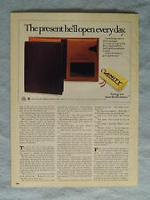 1985 Magazine Ad Page For Amity Executive Billfold Leather Wallet Advertisement