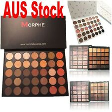 100% Morphe Eyeshadow Palette Brushes 35O Color Face Nature DUPE Glow AUS Stock