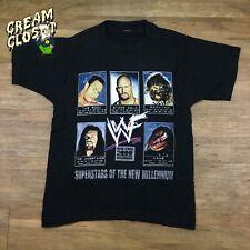 Vintage WWF WWE Stone Cold Kane Undertaker Mankind The Rock Superstars Tee S