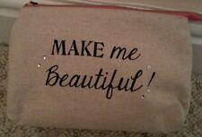 BNWOTS MAKE ME Beautiful make up bag