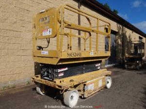 Grove SM3248E 26' Electric Scissor Lift Man Aerial Platform -Parts/Repair