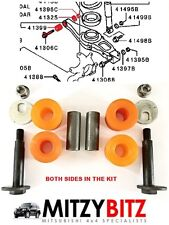 MITSUBISHI SHOGUN PAJERO MK3 2000-06 REAR LOWER SUSPENSION ARM BUSH & BOLT KIT