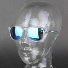 Gafas de sol de hombre blancas de plástico, de 100% UV