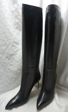 aaf493654 Gucci Black Knee High Stiletto Boots Size 40/9 New in Box Amazing