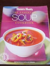 WOMENS WEEKLY ESSENTIAL SOUP COOKBOOK RECIPES CHEF COOK