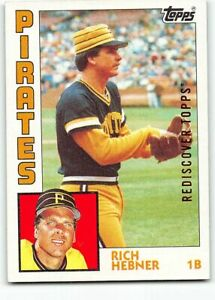 2017 Topps Rediscover Topps BRONZE 1984 #433 Rich Hebner Pittsburgh Pirates