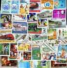 Centrafrique 500 timbres différents oblitérés