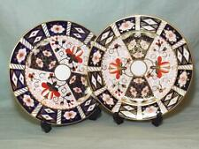 2 Royal Crown Derby Salad Starter Dessert Plates 21.5cm Imari Pattern 2451