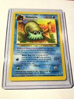 OMANYTE - Fossil Set - 52/62 - Common - Pokemon Card - Unlimited Edition - NM