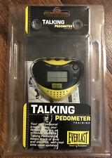 Everlast Talking Pedometer Training Yellow