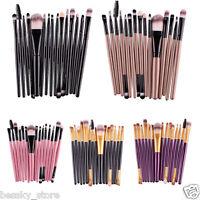 Pro15 Pcs Eye Shadow Foundation Eyebrow Lip Brush Makeup Brushes Set Tool