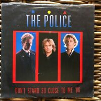 """The Police Sting Don't Stand so close to me 7"""" 45 giri vinyl"""