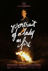 PORTRAIT OF A LADY ON FIRE MOVIE POSTER FILM A4 A3 A2 A1 PRINT ART CINEMA