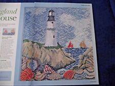 Goditi la tranquillità di questa bella Scena Costiera Cottage cross stitch chart