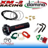 COMANDO GAS RAPIDO DOMINO XM2 3 GHIERE REGOLABILE COMPLETO DI CURVE PIPETTE CAVI