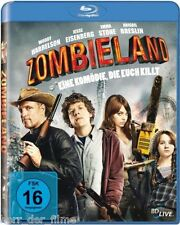 ZOMBIELAND (Woody Harrelson, Jesse Eisenberg) Blu-ray Disc NEU+OVP