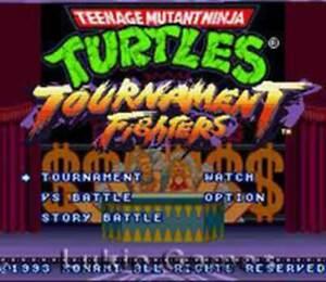 Teenage Mutant Ninja Turtles Tournament Fighters - SNES