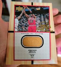 1999-00 Upper Deck MJ's Game Used Final Floor Piece Jumbo Card Michael Jordan