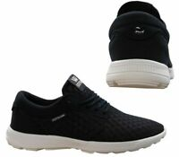 Supra Hammer Run Lace Up Mens Casual Running Trainers Navy 08128 454 B23C
