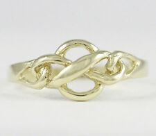 10k Yellow Gold Knot Style Baby Ring (amazing NEW design, 1.6 grams) #2089a