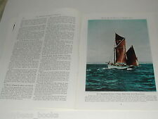 1943 magazine articles on Normandy & Brittany, Wwii color photos