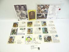 Baseball Hall of Fame 1993 Autographs Reggie Jackson Mookie Wilson Bob Feller