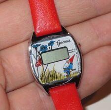 GNOMES Watch 1983 Vintage Never Worn NOS Bradley Rare (w300)