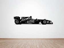 Red Bull  F1 2011 Wall art decal Sticker (large) Sebastian Vettel champion car