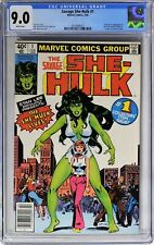 S376 SAVAGE SHE-HULK #1 Marvel CGC 9.0 VF/NM (1980) Origin & 1st App of SHE-HULK