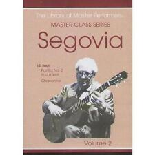 Andres Segovia Master Class Series Dvd Volume 2