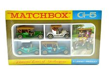 MATCHBOX G5 GIFT SET ' FAMOUS CARS OF YESTERYEAR '