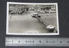 1939 BRITAIN FROM THE AIR SENIOR SERVICE CIGARETTE CARD # 25 BOGNOR REGIS
