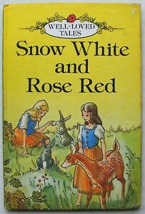 Vintage Ladybird Book – Snow White and Rose Red – Well Loved 606D – Very Good