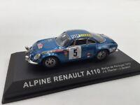 alpine renault a110 1800 thérier-jaubert 1973  n50/70 1/43 voitures de rallye
