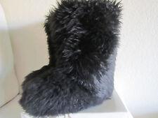 UGG Australia FLUFF MOMMA 5302 Black Sheepskin BOOTS Sz 5