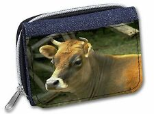 Red Cow Girls/Ladies Denim Purse Wallet Christmas Gift Idea, ACO-1JW