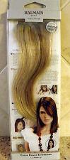 "New BALMAIN PARIS Color Fringe Hair Extentions 11.8"" Memory Hair Clip On"