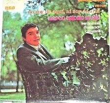 Marco Antonio Muñiz  No Soy De Aqui Ni Soy De Alla    LP