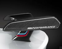 2 x For BMW M PERFORMANCE Car VINYL STICKERS Bumper Window Spoiler JDM DECALS