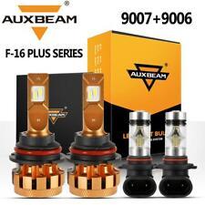 AUXBEAM Combo 9007 LED Headlight Decoder+9006 Fog for Dodge Ram 1500 2500 3500