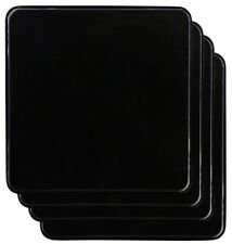 New Gas Burner Covers Square Kitchen Home Stove Top Black Reston Lloyd 4 Set
