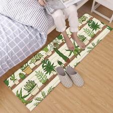 Cartoon Plants Succulent Cactus Design Area Rugs Bedroom Living Room Floor Mat