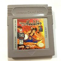 Disney's Aladdin Nintendo Original GameBoy Game - Tested Working & Authentic!