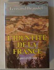 L'Identité De La France - BRAUDEL Fernand 3 Tomes / Histoire