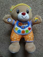 Vtech Chat & Learn Reading Bear -V. Smile Baby Interactive Toy Toddler, Learning